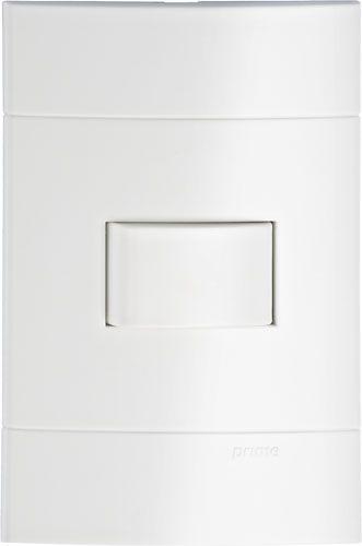 Conjunto Interruptor Simples 10A 250V Schneider Lunare Branco