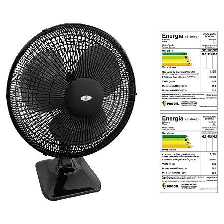 Ventilador Oscilante de Mesa Soft 30 cm Venti-Delta