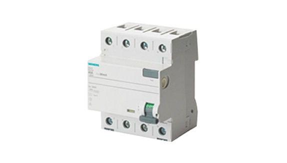 Dispositivo DR Siemens 3PN Tetrapolar 63A 30MA 5SV5346-0MB