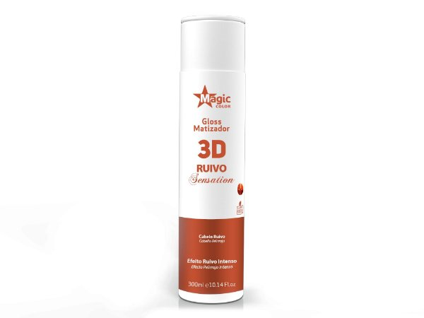 Matizador 3D Ruivo Sensation - 300ml