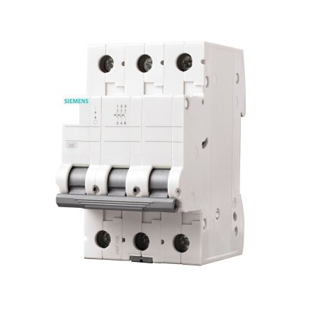 Disjuntor Siemens 5SL1 80A Tripolar Curva C