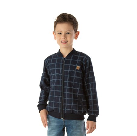 Jaqueta bomber infantil masculina