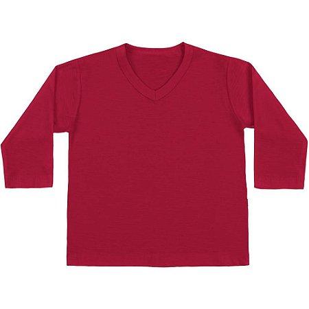 Camiseta ML básica vermelha