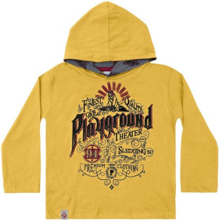 Camiseta ML playground amarela
