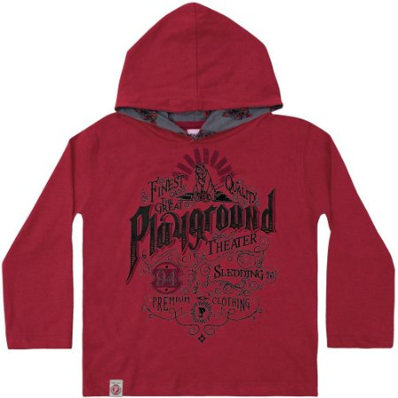 Camiseta ML playground vermelha