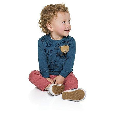 Camiseta ML little bear azul