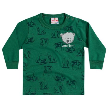 Camiseta ML little bear verde