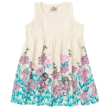 Vestido infantil floresta encantada