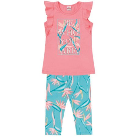 Conjunto infantil be who you are