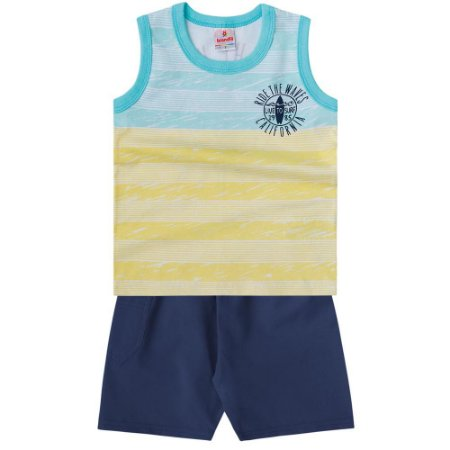 Conjunto infantil ride the waves Brandili