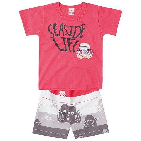 Conjunto infantil seaside life