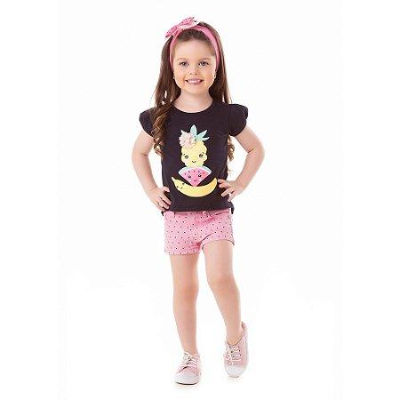 Camiseta infantil frutas