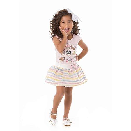 Conjunto infantil carinhas bonecas