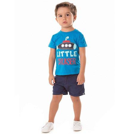 Camiseta infantil submarino