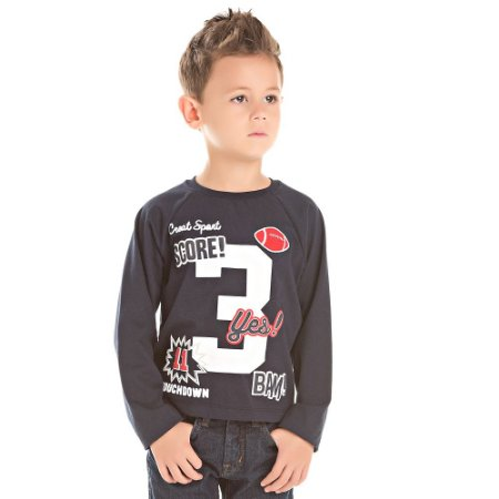 Camiseta infantil ML score 3