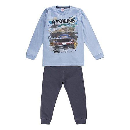 Conjunto ML camiseta e calça moletom