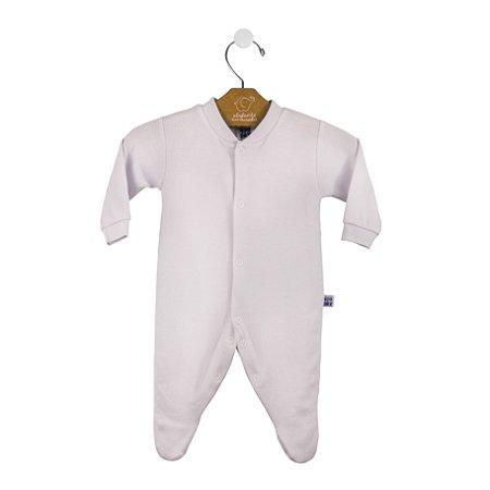 Macacão básico bebê prematuro branco