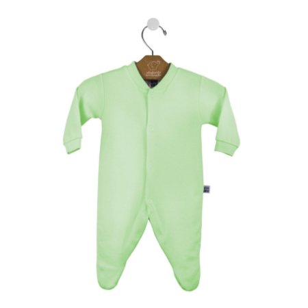 Macacão básico bebê prematuro verde