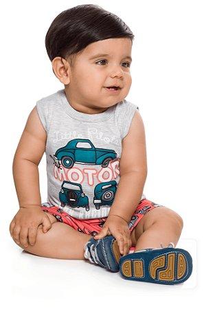Conjunto bebê menino carros
