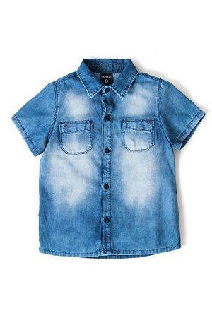Camisa infantil masculina jeans