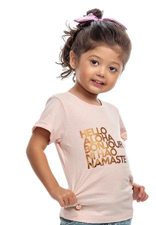 Blusa rosé - TAL FILHA