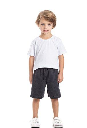 Bermuda moletinho infantil menino