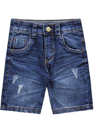 Bermuda jeans bebê masculina