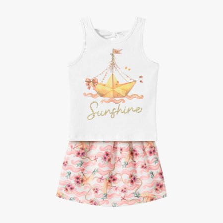 Conjunto infantil feminino sunshine