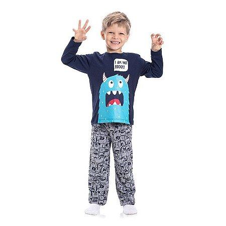 Pijama infantil monster