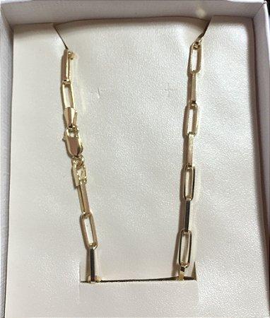 3b9ff5d9ef3 Corrente de ouro 18k Cartier Alongado 7gr 60 cm