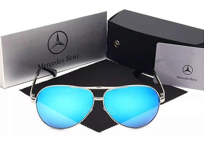 2a671f15b Óculos De Sol Mercedes Benz Importado Polarizado Uv400 Luxo - Luke ...