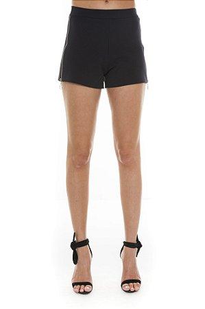Shorts com Zíper na Lateral