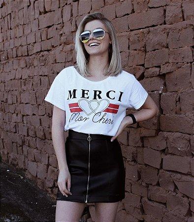 T- shirt Merci Mon Cheri
