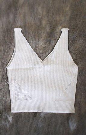 Cropped Fresia Branco