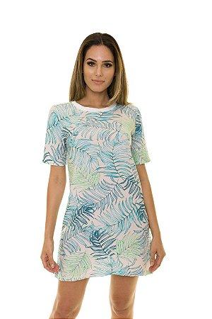 Vestido T-shirt Floral