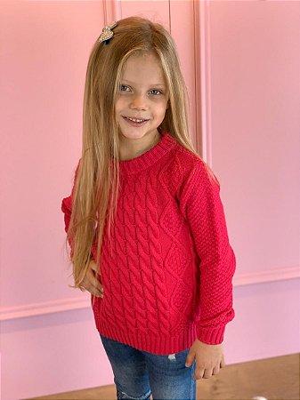 Suéter Infantil Unissex Tranças