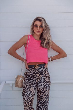 Cropped Wind Rosa Chiclete