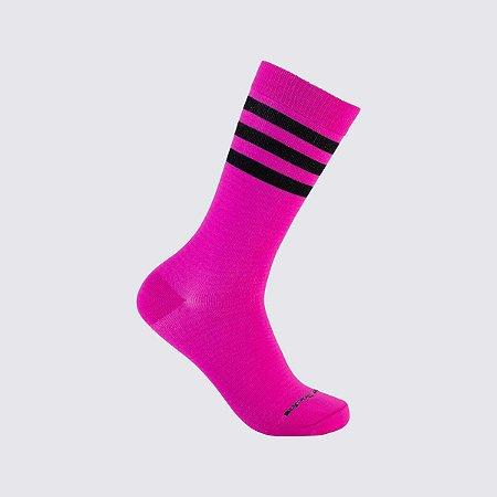 Black On Pink Stripes