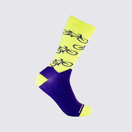 Magrela Amarela Neon