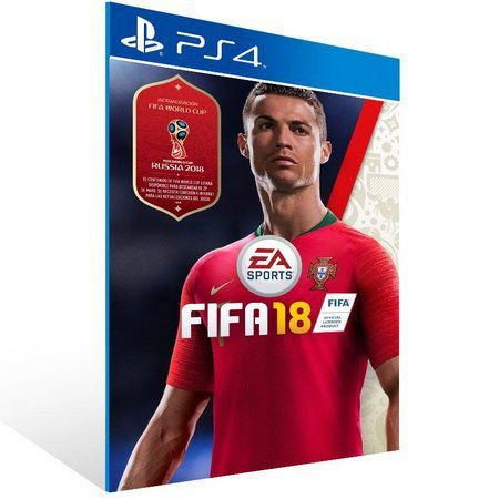 Fifa 18 PS4 PSN Mídia Digital