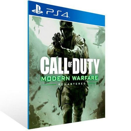 Call of Duty: Modern Warfare Remastered Ps4 Psn Mídia Digital