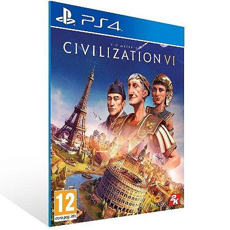 Sid Meiers Civilization VI Ps4 Psn Mídia Digital