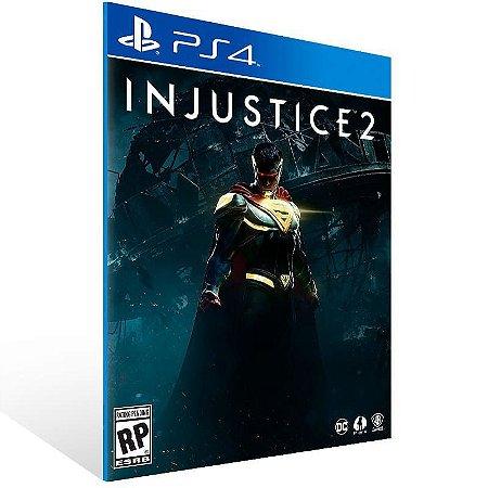 Injustice 2 Ps4 Psn Mídia DIgital