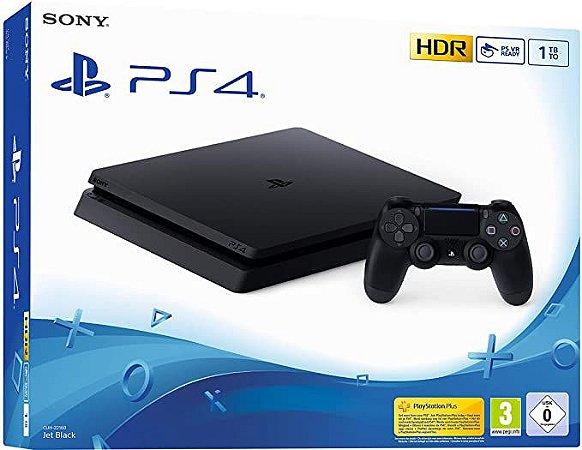 Console PS4 PlayStation 4 SLIM 1TB - Sony