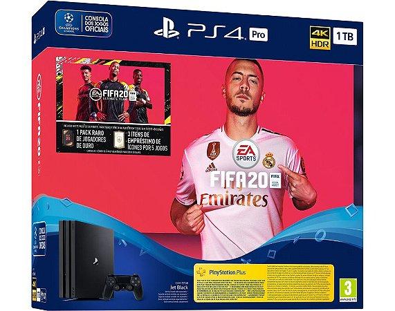 Console PS4 PlayStation 4 SLIM 1TB + FIFA 20 - Sony