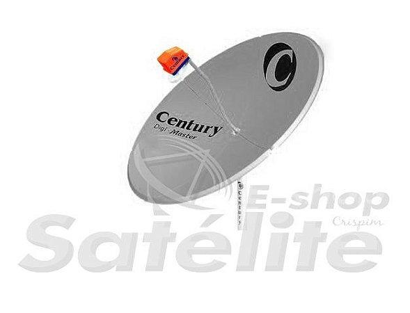 Antena de chapa Century Digi Master 150 CM BANDA C e KU