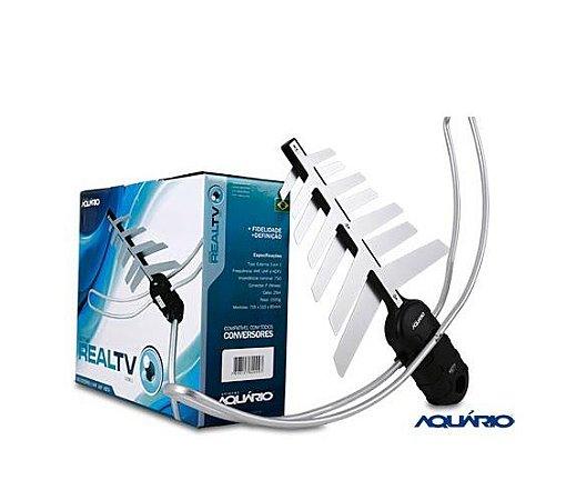 Antena Aquário DTV 3000 UHF-VHF-HDTV (COMPLETA)