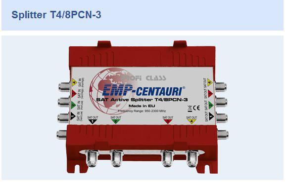 Divisor Splitter T4/8PCN-3 - EMP CENTAURI