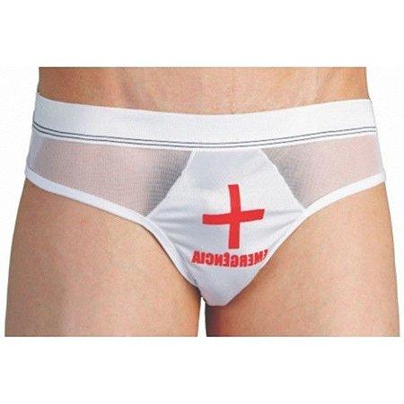 Fantasia erótica masculina cueca enfermeiro