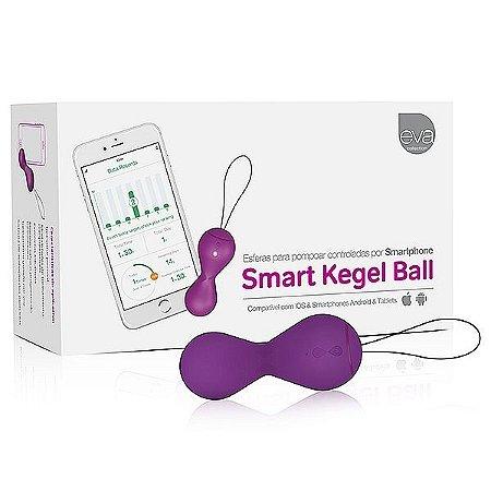 Smart kegel ball - treino curso de pompoarismo via celular